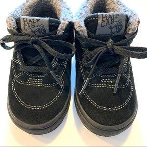 Vans Half Cab Sherpa Black Shoes Baby Toddler